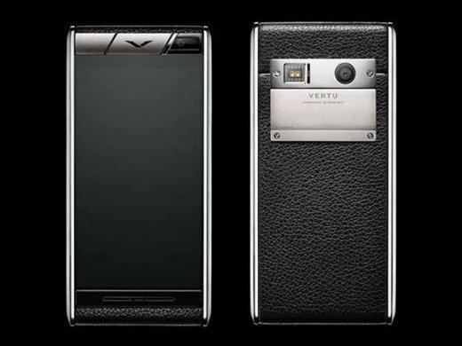 Vertu Aster: Luxus-Smartphone mit Titan, Saphirglas und Leder-Rückseite gesichtet