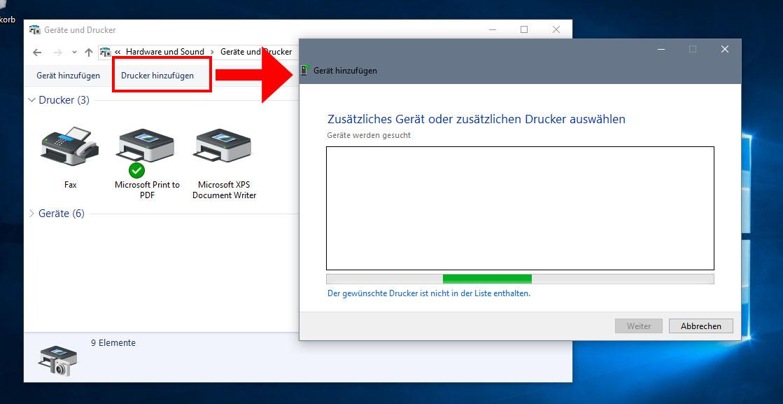 Wlan-Drucker Einrichten Windows 10