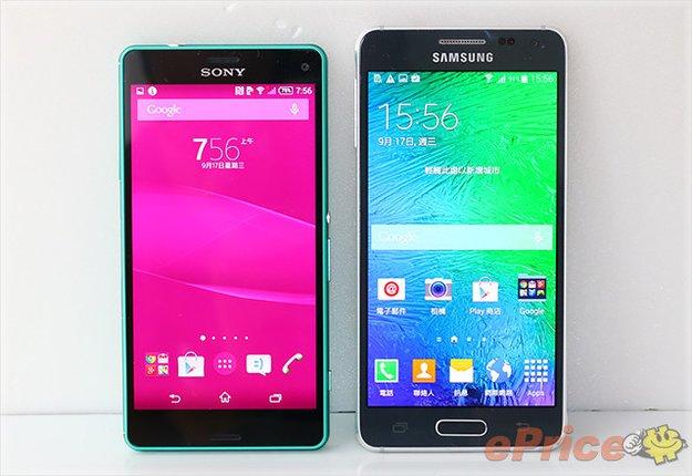 Sony Xperia Z3 Compact: Größenvergleich mit iPhone 6 &amp&#x3B; Samsung Galaxy Alpha