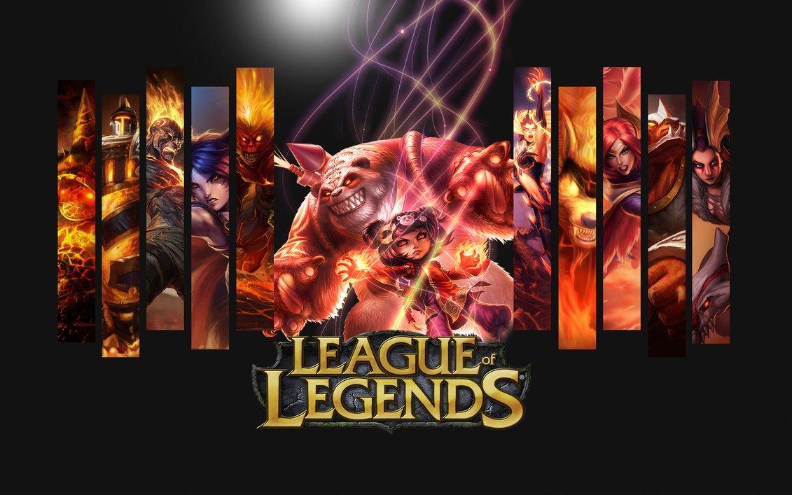 League Of Legends Wallpaper Champions