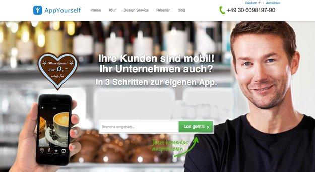 AppYourself: Android-App erstellen per Baukasten