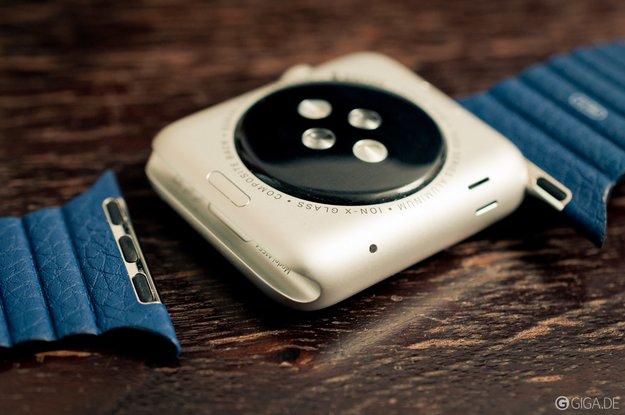 Taptic Engine im Armband könnte Apple Watch noch dünner machen
