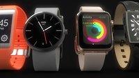 Apple Watch vs. Moto 360 und Co. im Bildvergleich