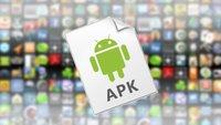 Installierte Android-Apps in APKs umwandeln und teilen
