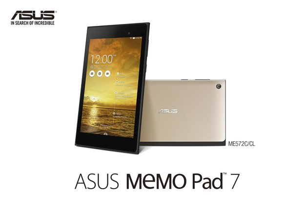 ASUS Memo Pad 7: Modebewusstes 7 Zoll-Tablet vorgestellt [IFA 2014] [Update: Hands-On]