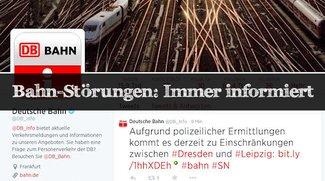 Bahn-Störungen: Wo findet man Informationen?