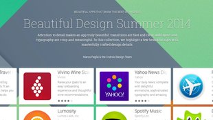 Beautiful Design Summer: Google kürt schönste Apps im Play Store