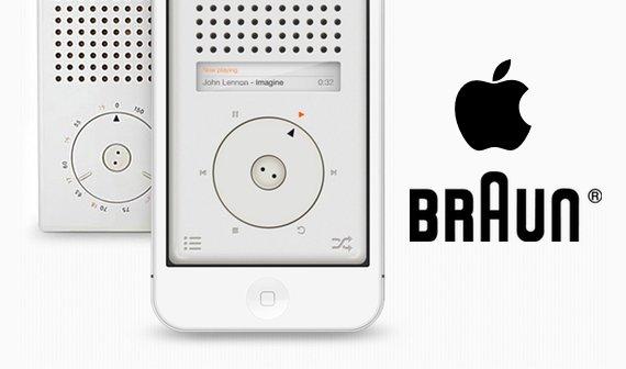 Rams trifft Ive: Apps und Wallpaper im Braun-Design für das iPhone