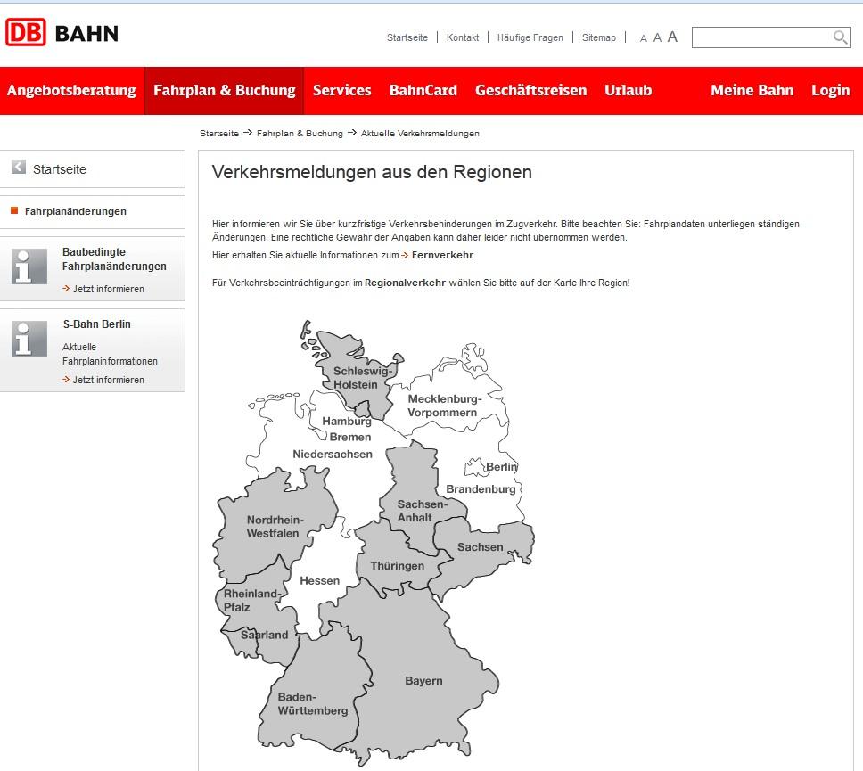 Bahnstreik Aktuell Fahrt Mein Zug Punktlich Ausfalle Online Prufen