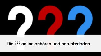 Die drei Fragezeichen im Stream oder als MP3 online hören