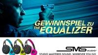 Gewinnt zum Start von THE EQUALIZER coole Kopfhörer von SMS Audio