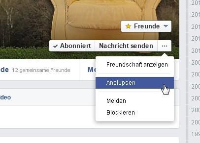 Nicht anstupsen geht bei facebook The Social