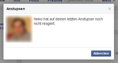 Anstupser Bei Facebook