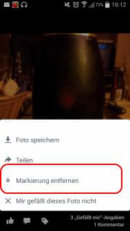 Facebook Markierung Verhindern