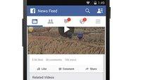 Angriff in Richtung YouTube: Facebook zeigt Aufrufzahlen