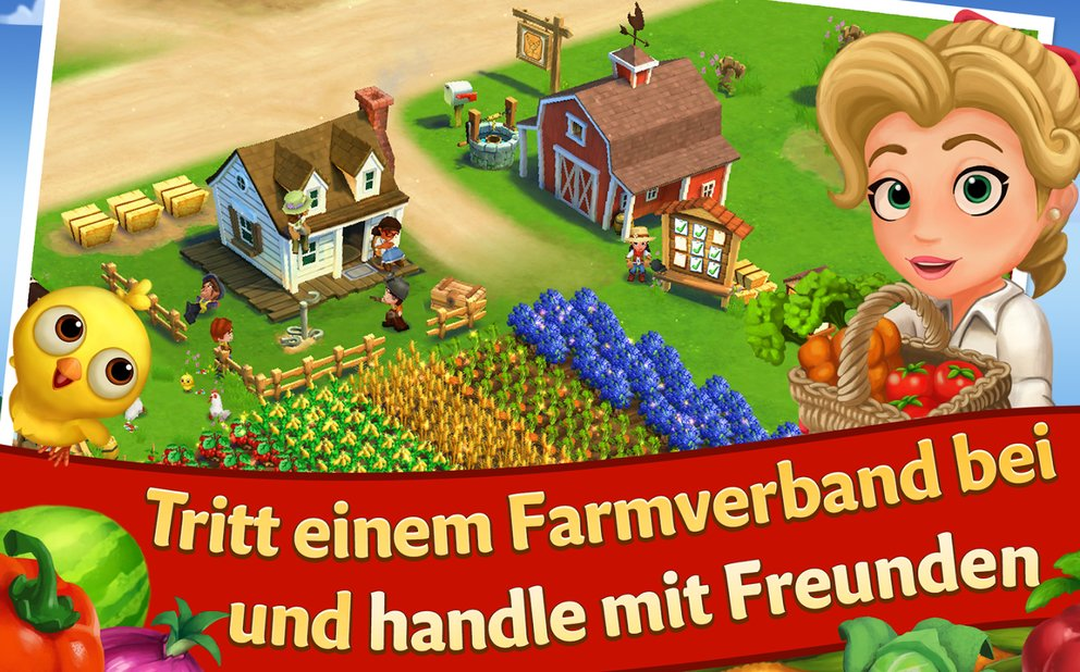 Farmville 2 Verdoppeln