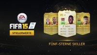 FIFA 15: 5-Sterne Skiller im Überblick