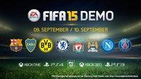 FIFA 15 Demo: Download für PC und Xbox One/Xbox 360 verfügbar – PS4 morgen