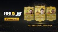 FIFA 15: Top 20 Torhüter – wer ist der beste Goalkeeper?