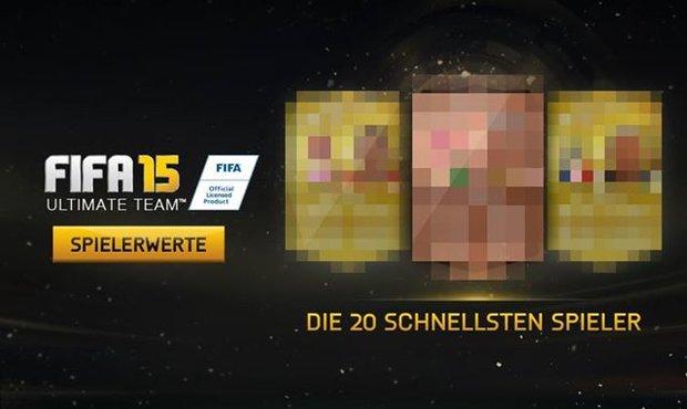 FIFA 15: Die schnellsten Spieler für Ultimate Team und Co. im Überblick