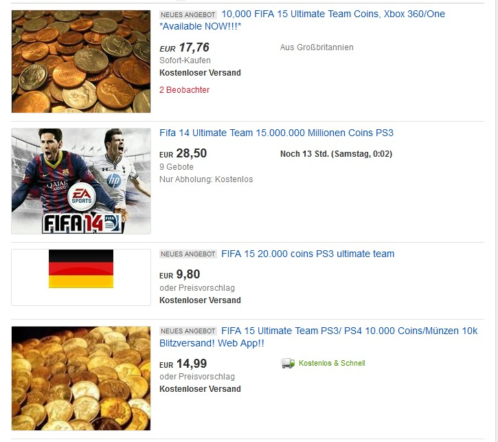 Fifa 16 Coins Und Münzen In Ultimate Team Tipps Tricks Und