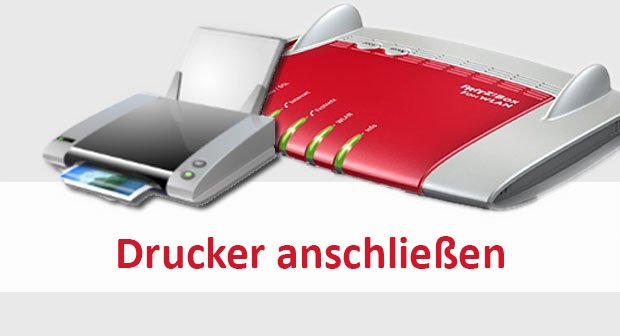 Drucker an FritzBox anschließen & als Netzwerkdrucker nutzen