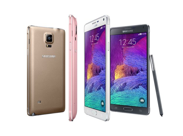 Samsung Galaxy Note 4: Neue Generation des High End-Phablets vorgestellt, im Hands-On [IFA 2014]