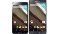 Galaxy S5 & Galaxy Note 4 erhalten Android L im November (Gerücht)