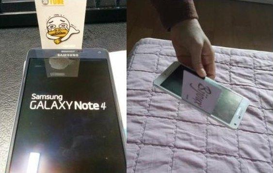 Samsung Galaxy Note 4: Erste Beschwerden über Verarbeitungsmängel