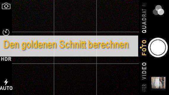 Goldener Schnitt: Berechnen und anwenden - so geht's!