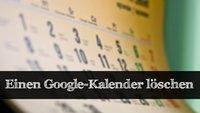 Anleitung: Google Kalender löschen