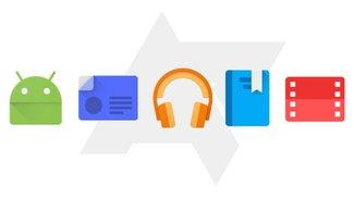 Google Play Store 5.0: Screenshots zeigen Material Design