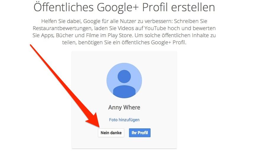 google konto registrieren