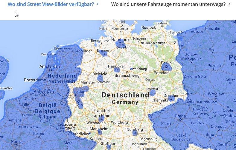Google Street View: Download der Maps-App für iPhone und Android on