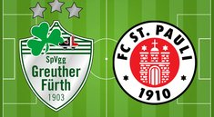SpVgg Greuther Fürth - FC St. Pauli im Live-Stream & TV: Topspiel 2. Bundesliga heute