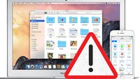 Bug in iOS 8 löscht Daten aus iCloud Drive