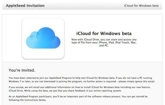 """Apple erweitert Betaphase für """"iCloud for Windows"""""""