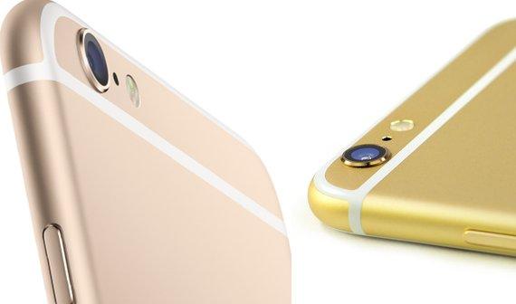 iPhone 6 vs. iPhone 5s: Deutliche Unterschiede beim Goldton [Bild des Tages]