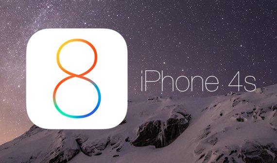 Im Video: So läuft iOS 8.0.2 auf dem iPhone 4s