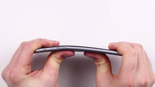 iPhone 6 Plus im Bend-Test
