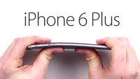 iPhone 6 Plus-Bentgate: Apple-Phablet krümmt sich, Samsung Galaxy Note 3 bleibt steif [Videos]