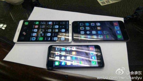 """iPhone 6 Plus: """"Bezel-Bomber"""" sieht sogar gegen 6 Zoll-Konkurrenz riesig aus"""
