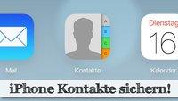 Die iPhone Kontakte sichern - die besten Methoden