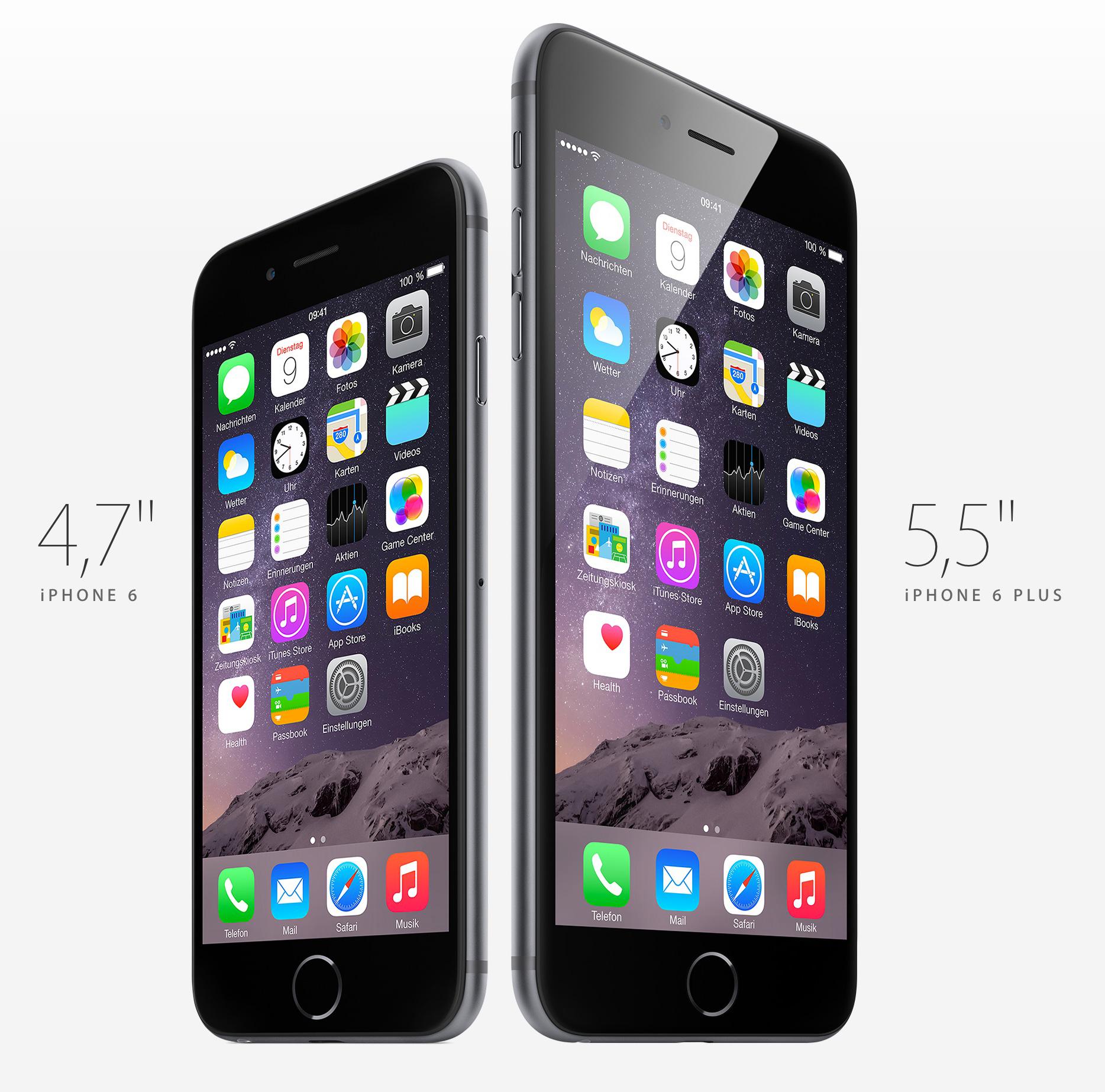 iphone 6 startbildschirm