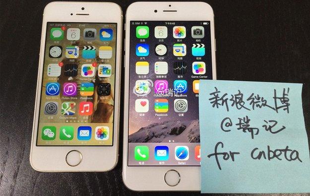 iPhone 6: Funktionierendes 4,7-Zoll-Modell in Fotos und Videos