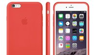 iPhone 6 Zubehör im Apple Store gelistet: Leder & Silikon Case