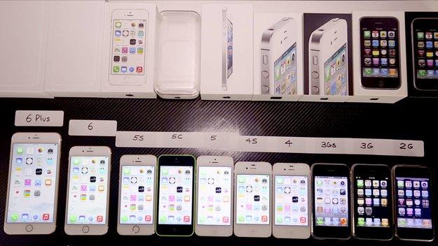 Alle iPhone-Generationen im Speed-Test (Video des Tages)