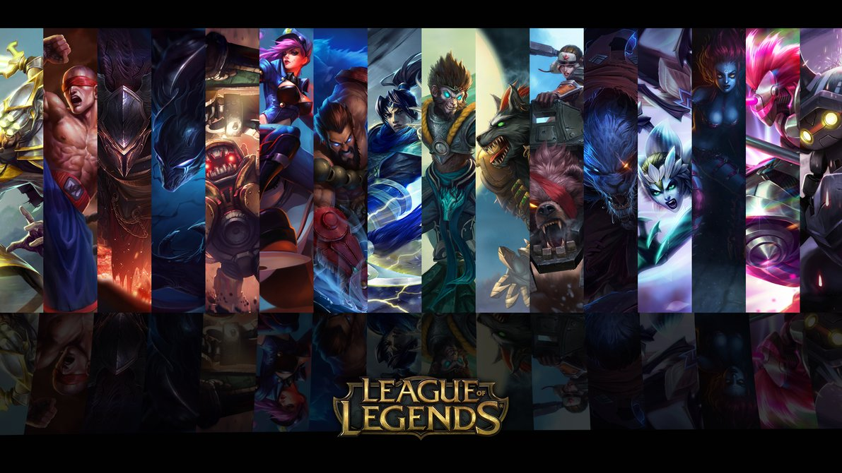 League Of Legends Wallpaper Champions