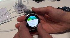 LG G Watch R: Hands-On zur runden Smartwatch [IFA 2014]