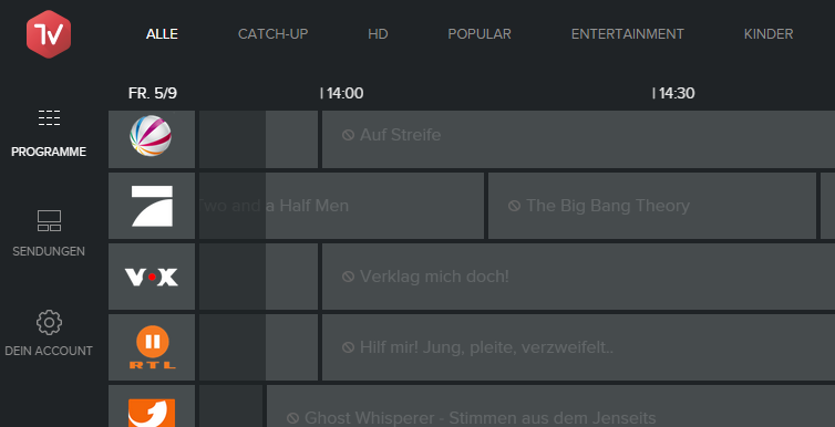 online tv schauen gratis ohne anmeldung